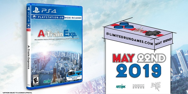 Limited Run Games announces A-Train Express for PS4