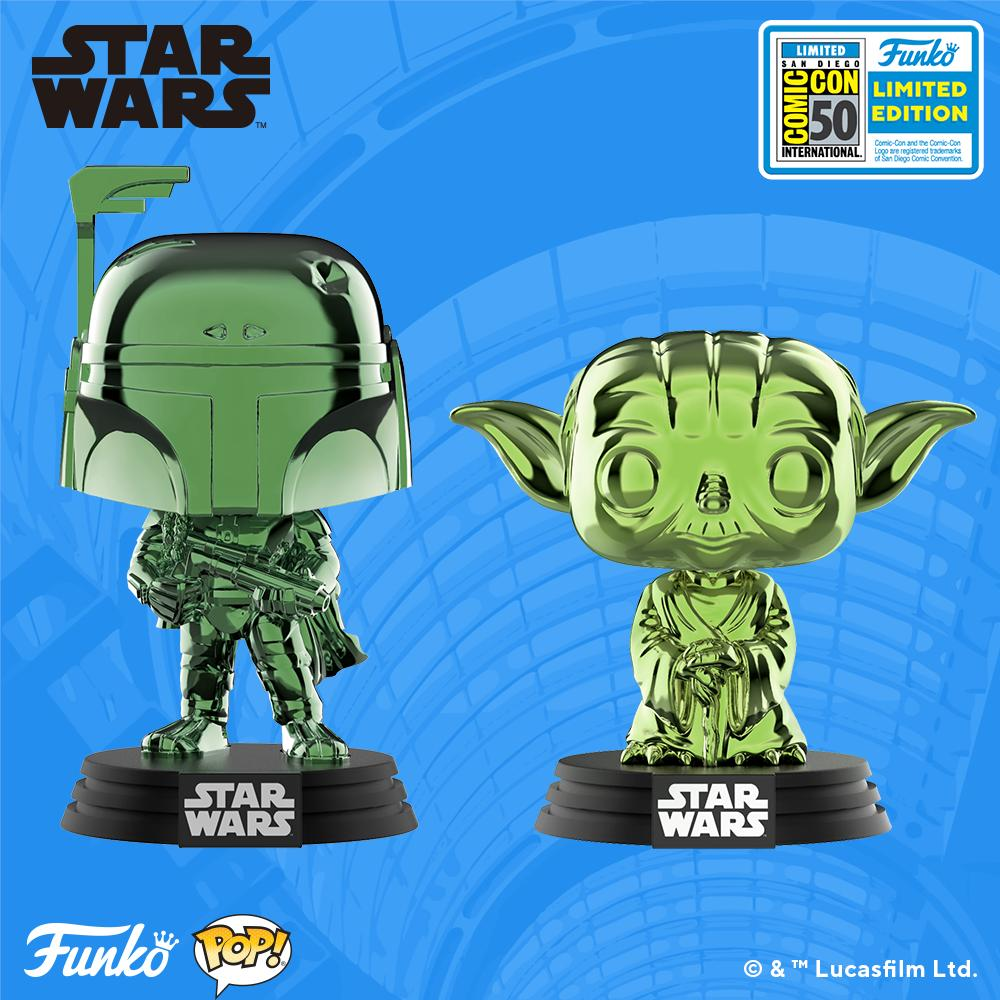 Funko Star Wars exclusives coming to SDCC 2019