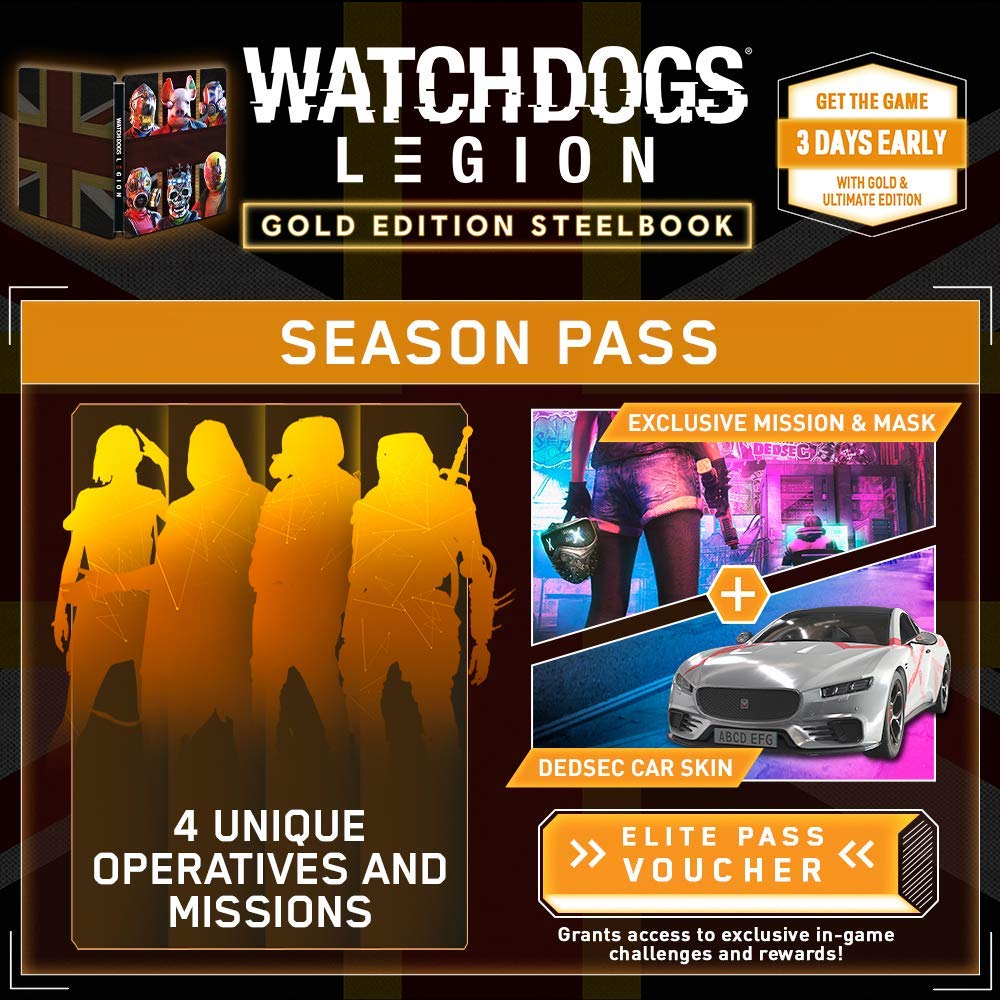 Ubisoft Announces Watch Dogs Legion At E3 Gold Edition Incoming Mintcondition News