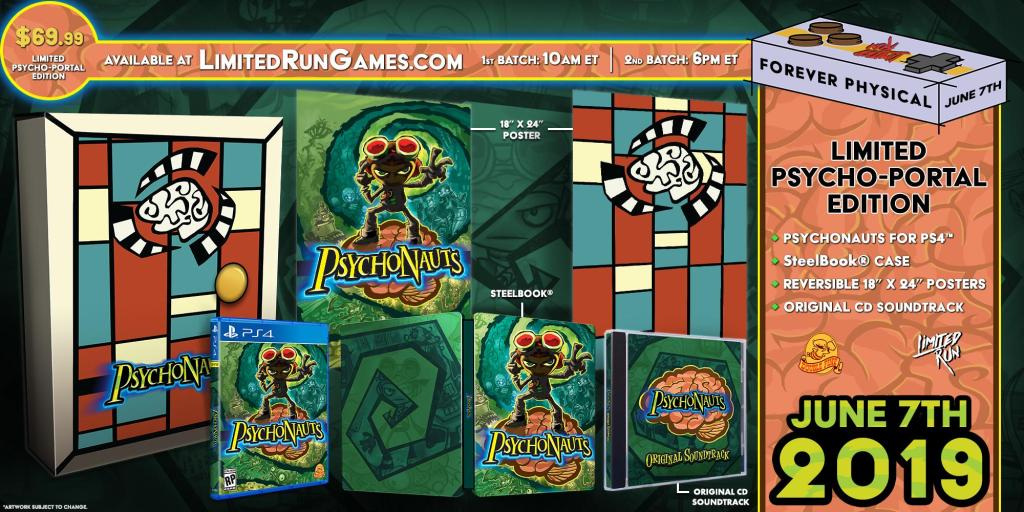 Psychonauts collector's edition information