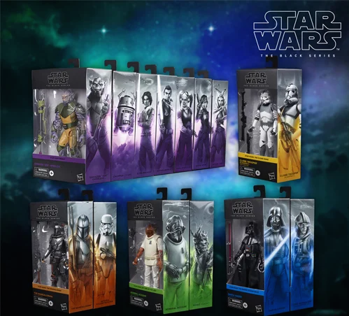 A new line of over 10 Star Wars figures